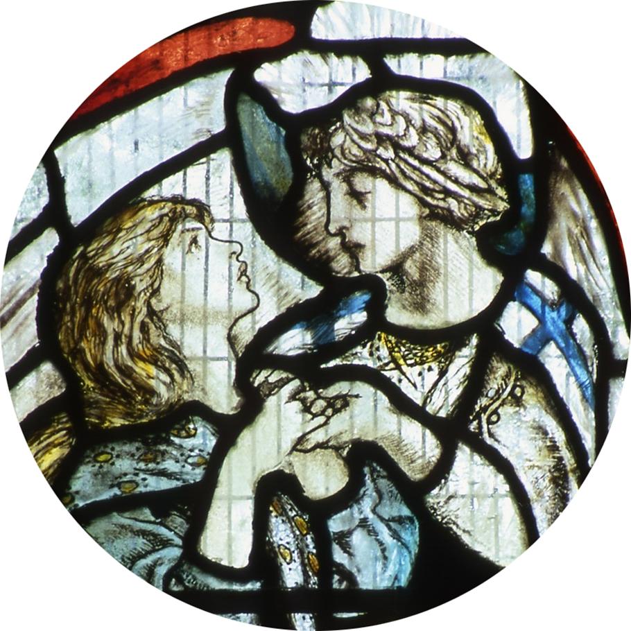 Matlock Bath stained glass window