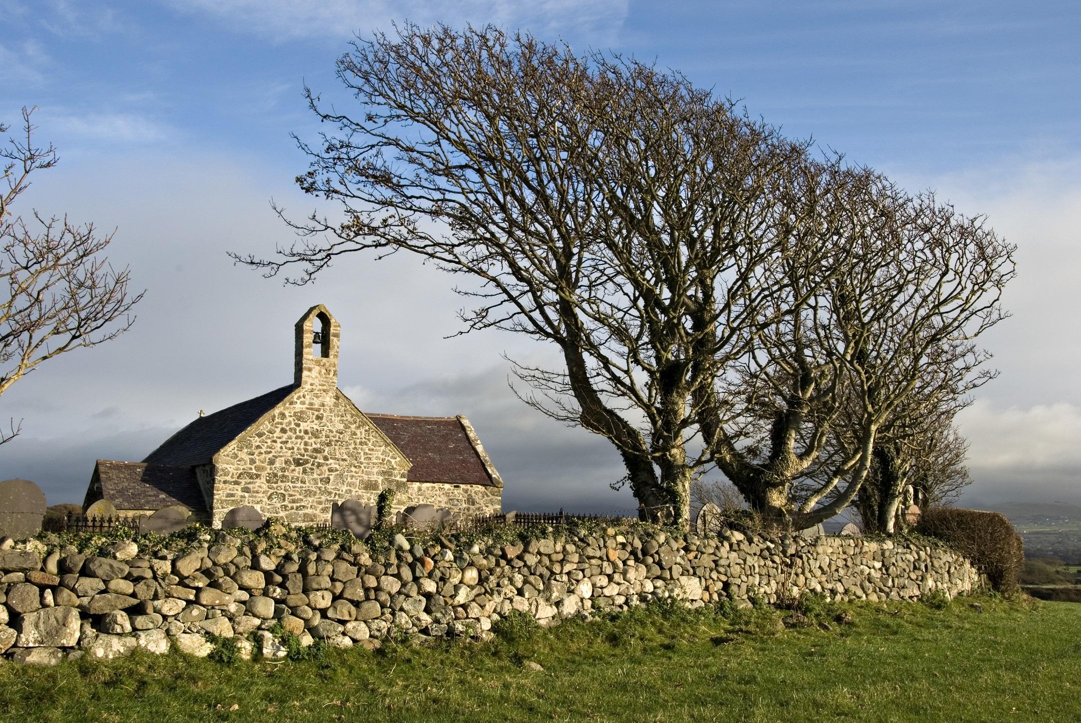 St Baglan's, Llanfaglan, Gwynedd