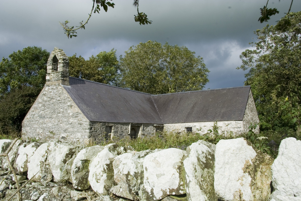 Llantrisant church, Anglesey - one of our first vestings in Wales