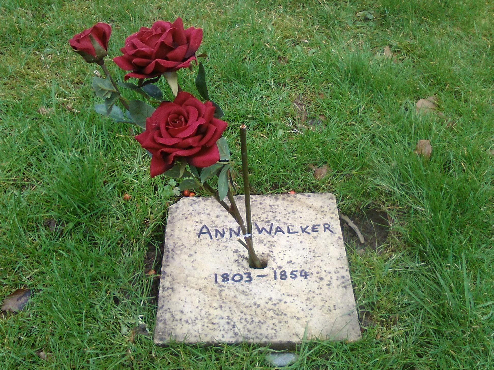 Ann Walker memorial