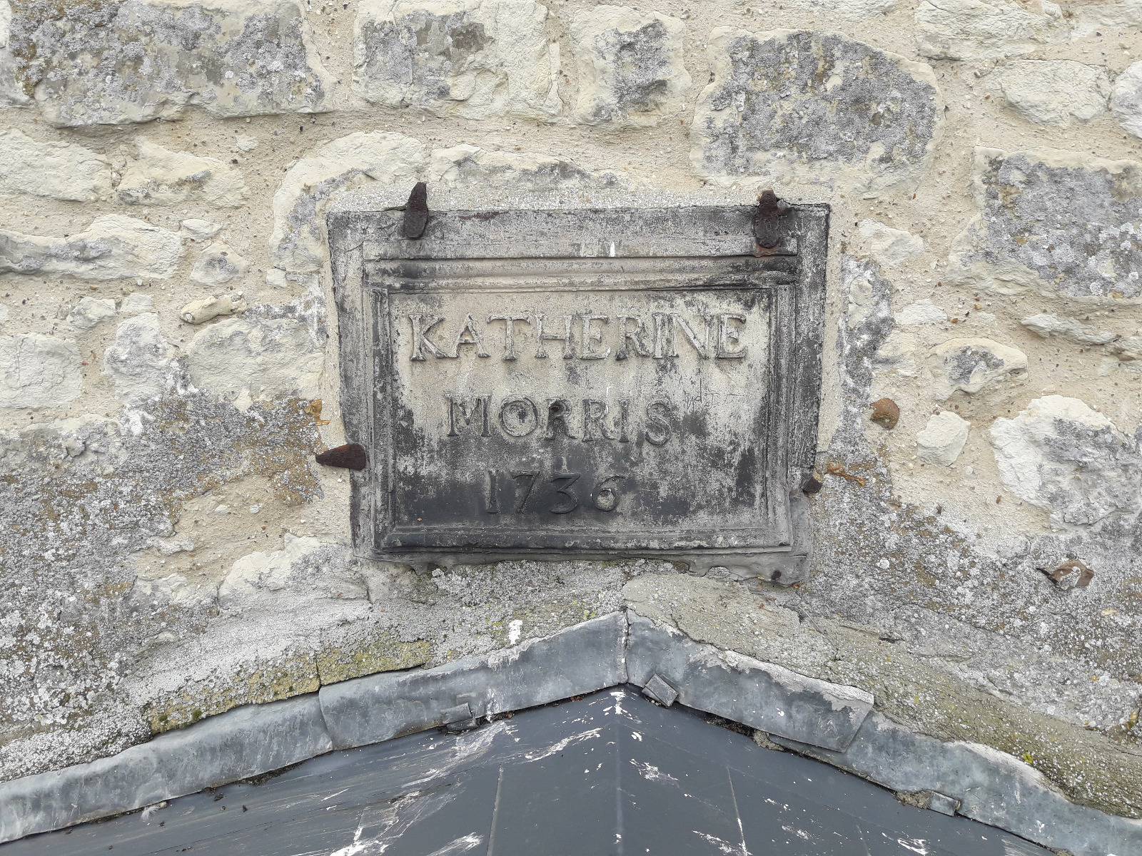 Katherine Morris plaque