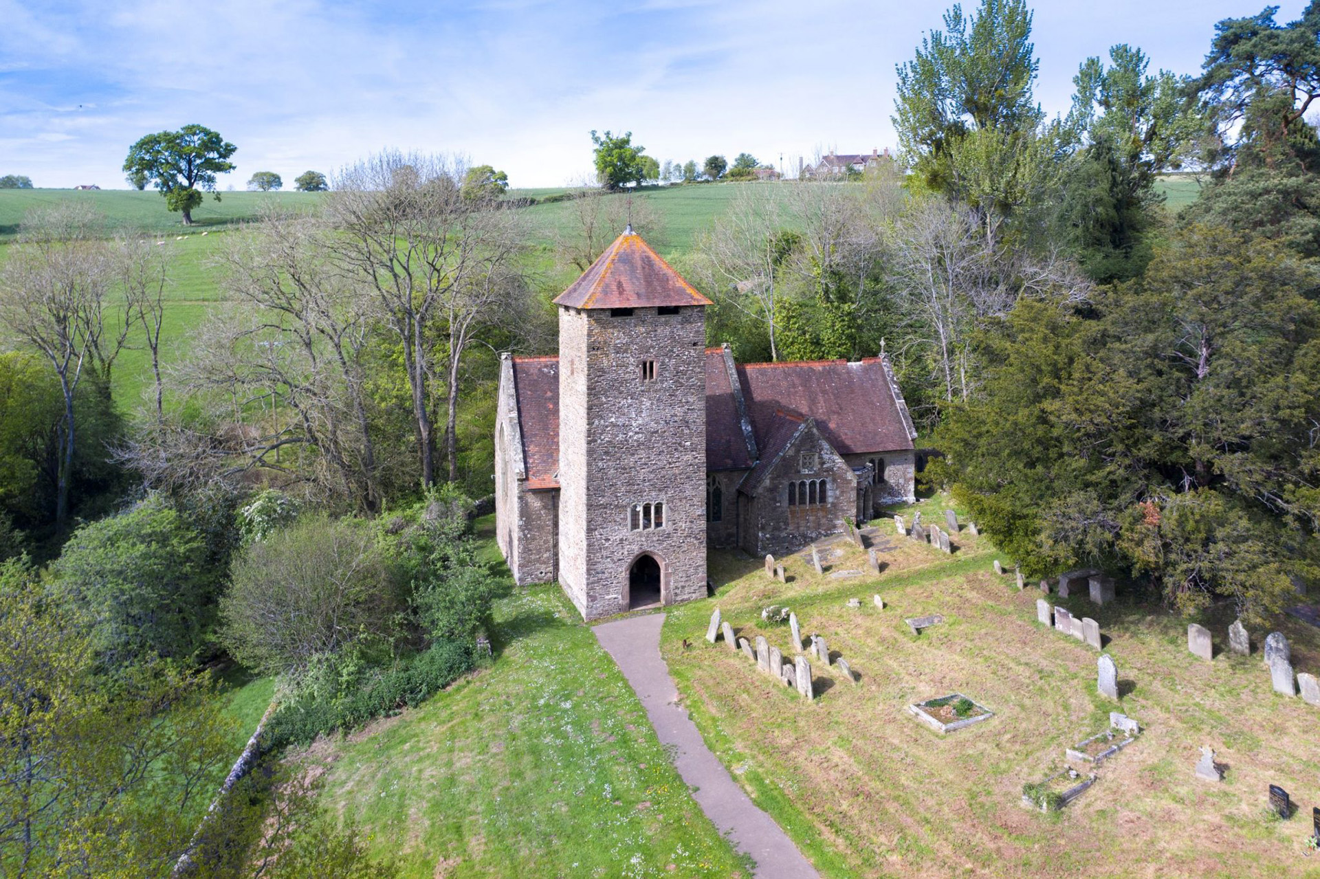 Llangatwg Feibion Afel: An Ancient Clas Church