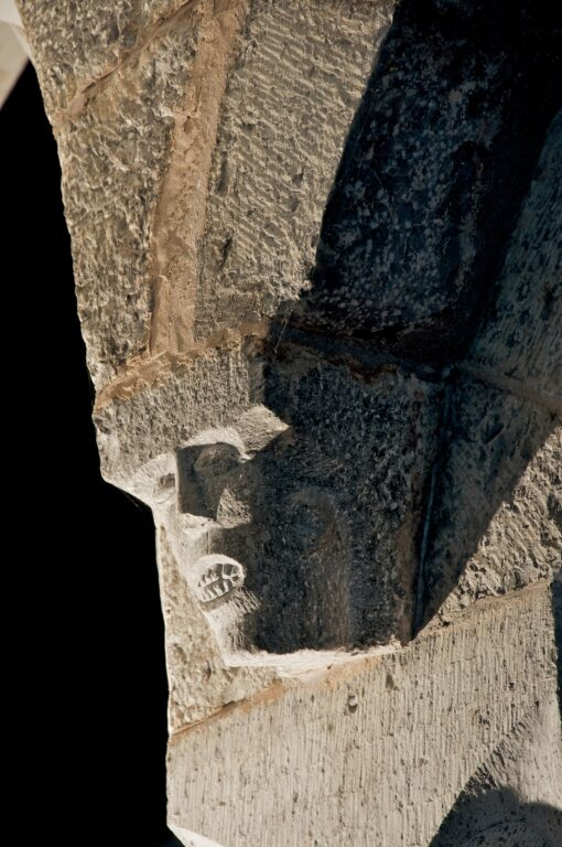 St Michaels and All Angels Castlemartin death face