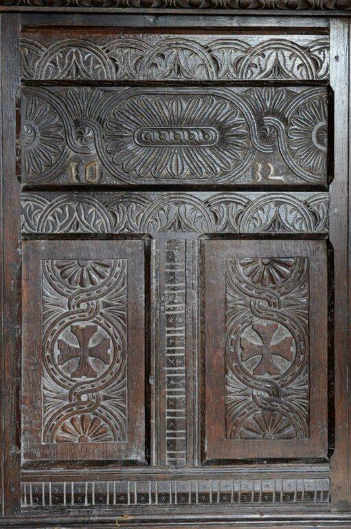 LLancillo carved chest