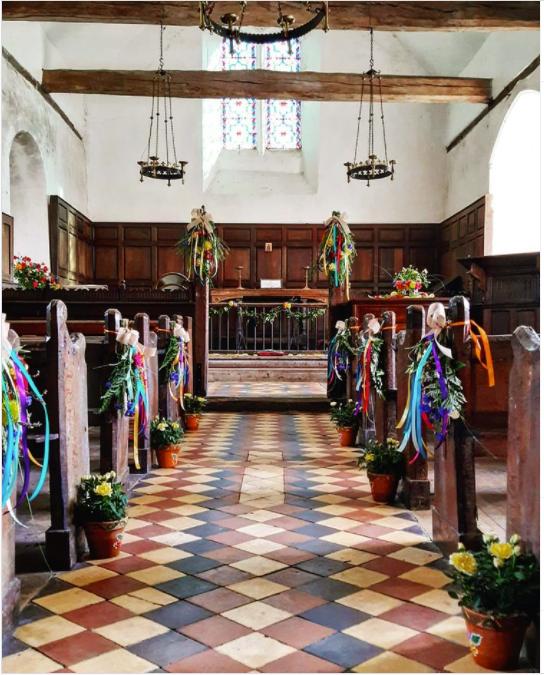 Boveney church wedding venue